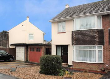 Thumbnail 3 bed semi-detached house for sale in Tennyson Road, Woodley, Reading, Berkshire