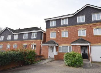 Thumbnail 4 bed town house for sale in Henley Road, Caversham, Reading