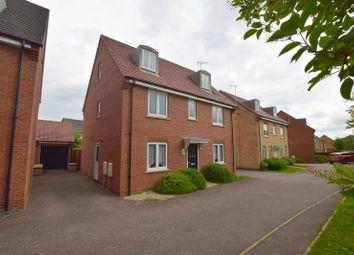 Thumbnail 5 bed detached house for sale in Winchcombe Meadows, Oakridge Park, Milton Keynes