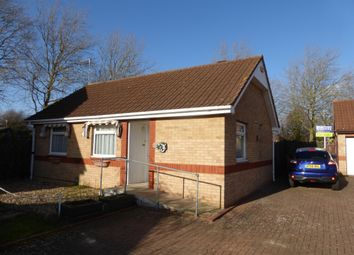 Thumbnail 2 bed detached bungalow for sale in Hazel Croft, Werrington, Peterborough