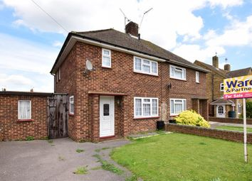 Thumbnail 2 bed semi-detached house for sale in Wadlands Road, Cliffe, Rochester, Kent