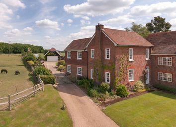 Thumbnail 4 bed farmhouse for sale in Court Lane, Hadlow, Tonbridge