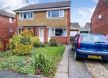Thumbnail 2 bed semi-detached house for sale in Baldersdale Avenue, Knaresborough, North Yorkshire