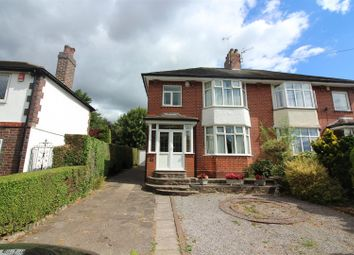 Thumbnail 3 bed semi-detached house for sale in Uttoxeter Road, Draycott, Stoke-On-Trent