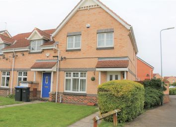 Thumbnail 3 bedroom end terrace house for sale in The Midfield, Middlesbrough