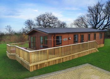 Thumbnail 2 bedroom lodge for sale in Amotherby Lane, Amotherby, Malton
