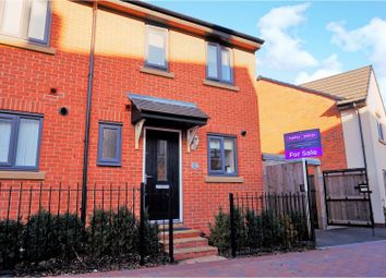 Thumbnail 2 bed semi-detached house for sale in Darrall Road, Lawley, Telford