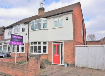 Thumbnail 3 bed semi-detached house for sale in Ring Road, Leicester