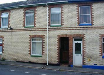 Thumbnail 3 bedroom terraced house to rent in Prospect Terrace, Newton Abbot, Devon