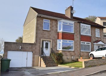 Thumbnail 3 bed semi-detached house for sale in Fetlar Drive, Simshill, Glasgow