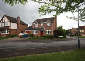 Thumbnail 4 bedroom detached house to rent in Rainsbrook Close, Southam