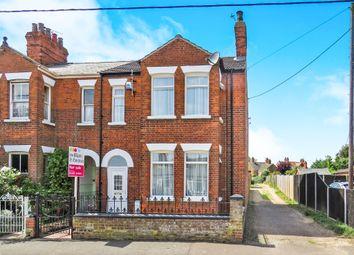 Thumbnail 3 bed semi-detached house for sale in Poplar Avenue, Heacham, King's Lynn