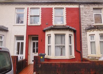 Thumbnail 3 bedroom terraced house to rent in Blackweir Terrace, Cathays, Cardiff