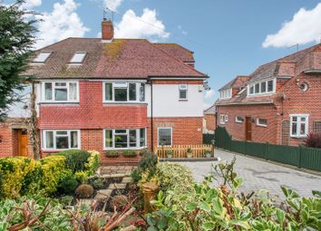 Hilltop Crescent, Portsdown Hill, Cosham PO6. 4 bed semi-detached house for sale