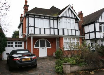 Thumbnail 4 bed detached house to rent in Woodcroft Avenue, London