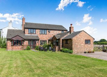 Thumbnail 3 bed detached house for sale in Stockley Lane, Lower Stretton, Warrington
