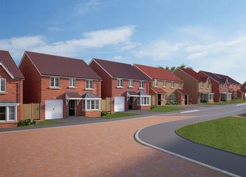 """Thumbnail 2 bed terraced house for sale in """"The Warwick"""" at Spellowgate, Driffield"""