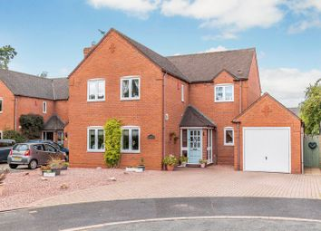 Thumbnail 4 bed detached house for sale in Church Close, Gnosall, Stafford