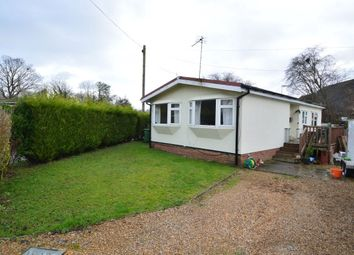 Thumbnail 2 bedroom bungalow for sale in Silver Birch Caravan Site, Walters Ash, High Wycombe