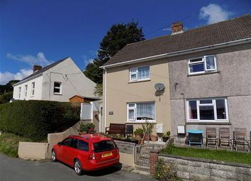 Thumbnail 2 bed semi-detached house for sale in Church Road, Lllanstadwell, Milford Haven