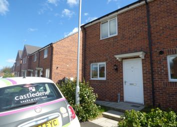 Thumbnail 2 bed semi-detached house to rent in Fairbairn Road, Peterlee