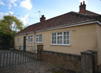 Thumbnail 2 bedroom detached bungalow for sale in Station Road, Great Ryburgh, Norfolk