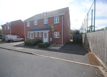 Thumbnail 3 bed semi-detached house to rent in Arlon Road, Market Drayton, Shropshire