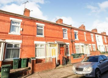Thumbnail 2 bed terraced house for sale in Caludon Road, Stoke, Coventry, West Midlands