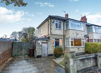 Thumbnail 3 bed end terrace house for sale in Bentley Lane, Meanwood, Leeds