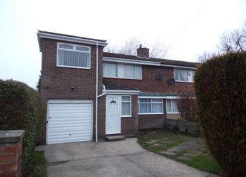 Thumbnail 5 bedroom semi-detached house for sale in Raby Road, Newton Hall, Durham