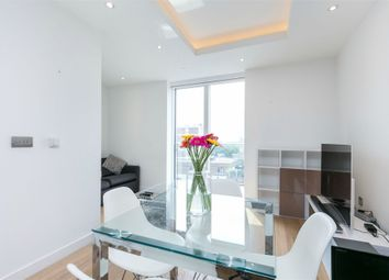 Thumbnail 1 bed flat to rent in Park Vista Tower, Wapping