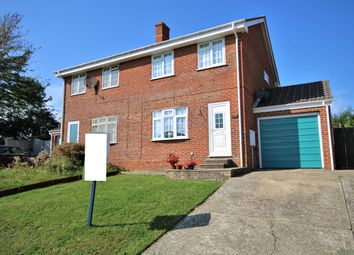 Thumbnail 3 bed semi-detached house for sale in Collards Close, Freshwater