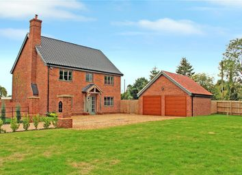 Thumbnail 4 bed detached house for sale in Hawthorn Drive, Bergh Apton, Norwich, Norfolk