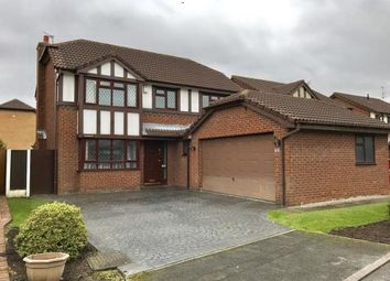 Thumbnail 4 bed detached house for sale in Norbreck Close, Penketh, Warrington, Cheshire