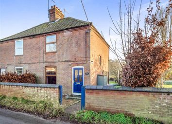 Thumbnail 3 bed semi-detached house for sale in The Street, Little Barningham, Norwich