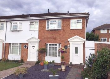 Thumbnail 3 bed semi-detached house for sale in Garrick Close, Staines Upon Thames