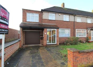 Thumbnail 3 bed end terrace house for sale in Ludlow Road, Feltham, Middlesex