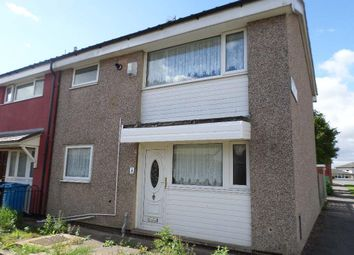 Thumbnail 3 bed end terrace house to rent in Haydock Garth, Hull