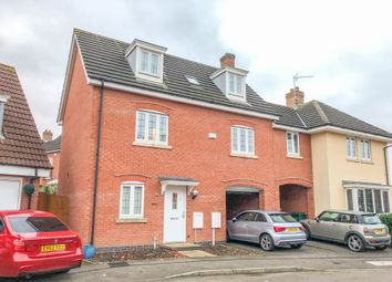 Thumbnail 4 bed detached house for sale in Crediton Close, Styvechale, Coventry