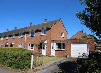 Thumbnail 3 bed end terrace house for sale in Hansards Drive, Wragby, Lincoln