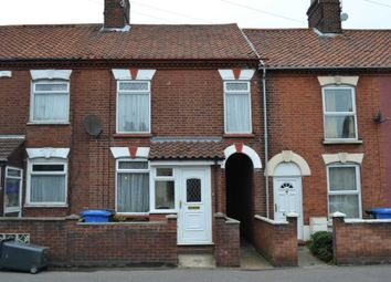 Thumbnail 3 bed terraced house to rent in Bull Close Road, Norwich