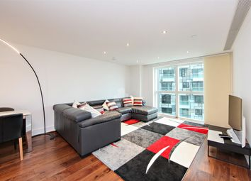 Thumbnail 3 bedroom flat for sale in Lincoln Plaza, Jackson Tower, London, United Kingdom