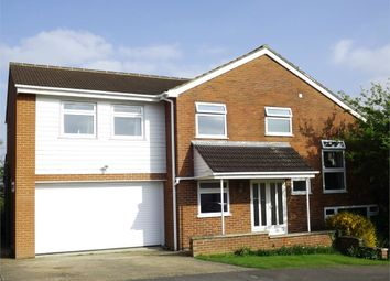 Thumbnail 5 bed detached house for sale in Cowper Court, Eaton Ford, St. Neots