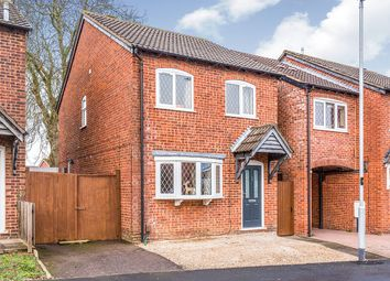 Thumbnail 3 bedroom detached house for sale in The Drive, Barwell, Leicester