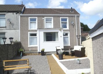 Thumbnail 3 bed end terrace house for sale in Trebanog Road, Porth