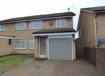 Thumbnail 3 bed semi-detached house for sale in Talavera Close, Daventry