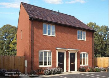 Thumbnail 2 bed semi-detached house for sale in Old Station Road, Mendlesham, Stowmarket