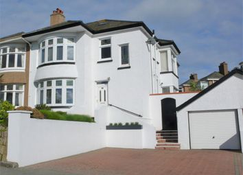 Thumbnail 4 bed semi-detached house for sale in Castle Drive, Falmouth