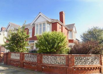 Thumbnail 3 bedroom semi-detached house for sale in Winchester Avenue, Blackpool, Lancashire