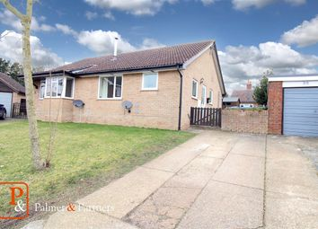 Thumbnail 2 bed semi-detached bungalow for sale in Millfields, Peasenhall, Saxmundham